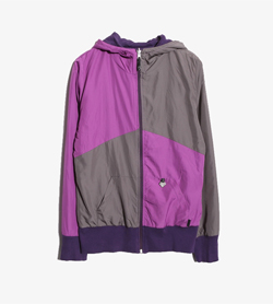 [중고] IUTER - IUTER 리버서블 배색 후드 집업  Made In Italy  Women M / Color - Purple