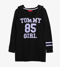 [중고] TOMMY GIRL - 타미걸 후드  Women S / Color - Black