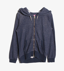 BEAMS HEART - 빔스하트 집업 후드  Women M / Color - Blue