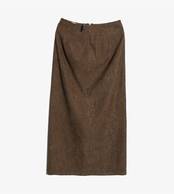 GK - Gk 폴리 스커트  Women S / Color - Brown