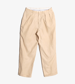 [중고] RALPH LAUREN랄프로렌 린넨 팬츠Made In ItlayMan 32 / Color - Beige