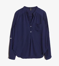 FOREVER21 - 포레버21 블라우스  Women L / Color - Navy