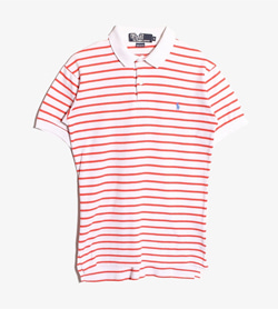 POLO BY RALPH LAUREN - 폴로바이랄프로렌 코튼 Pk 티셔츠  Made In Usa  Women S / Color - Stripe