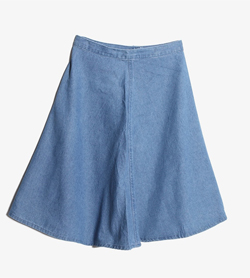 GU - Gu 데님 스커트  Women XL / Color - Denim
