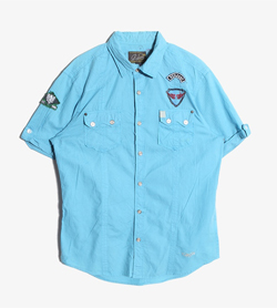 RIVER ISLAND - 리버 아일랜드 셔츠  Man M / Color - Sky Blue