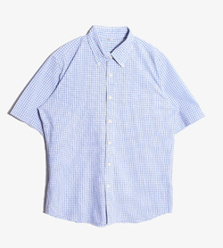 UNIQLO - 유니클로 체크 셔츠  Man XL / Color - Sky Blue