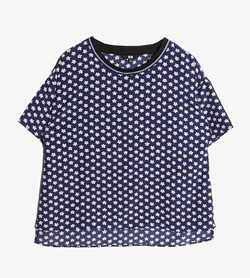 UNIQLO - 유니클로 티셔츠  Women S / Color - Navy