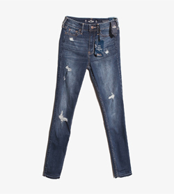 HOLLISTER - 홀리스터 데님 팬츠  Women 24 / Color - Denim