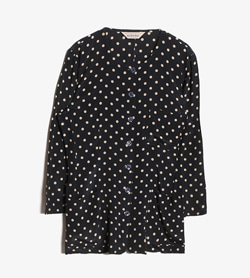 SELENE - 셀레네 도트 블라우스  Made In Italy  Women M / Color - Dot
