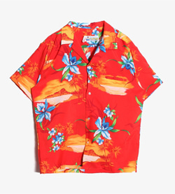 SHOZELINE HAWAII - 알로하 하와이안 셔츠  Made In Hawaii  Man M / Color - Flower
