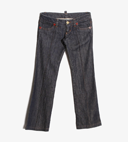 DSQUARED2 - 디스퀘어드2 DCDC 데님 팬츠  Made In Italy  Women 32 / Color - Denim