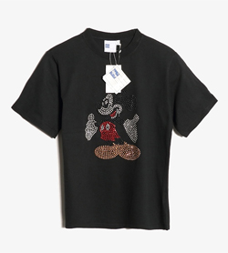 DISNEY - 디즈니 미키 티셔츠  Women M / Color - Black