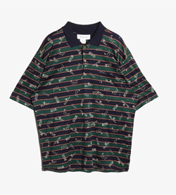 MONTEGIAPPA - 몬테지아파 패턴 Pk 티셔츠  Made In Italy  Man M / Color - Stripe