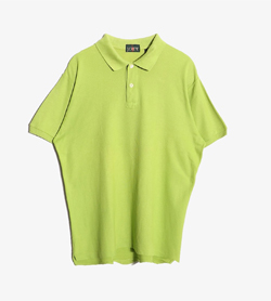 J CREW - 제이크루 베이직 Pk 티셔츠  Made In Singapore  Man L / Color - Green