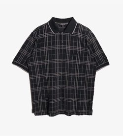 BURBERRY - 버버리 골프 Pk 티셔츠  Man M / Color - Black