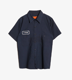 UNIFIRST - 유니퍼스트 폴리 혼방 셔츠  Made In Usa  Man L / Color - Navy