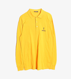 YVESSAINTLAURENT - 입생로랑 코튼 Pk 티셔츠  Made In Italy  Man S / Color - Yellow