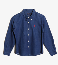 RALPH LAUREN - 랄프로렌 데님 셔츠  Kids 150 / Color - Denim