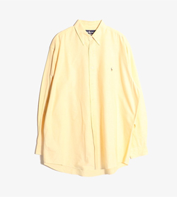 RALPH LAUREN - 랄프로렌 코튼 셔츠  Man XL / Color - Yellow