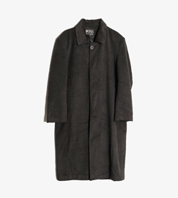 HUGO BOSS - 휴고보스 양모 롱 코트  Man XL / Color - Charcoal