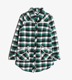 ROTE ROSE -  폴리 체크 셔츠  Women M / Color - Check