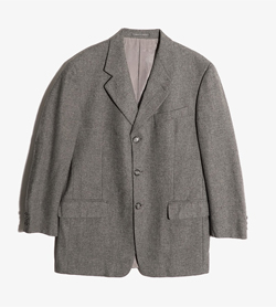 LANVIN - 랑방 울혼방 3버튼 자켓  Made In Italy  Man M / Color - Gray