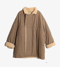 EMPORIO ARMANI - 엠프리오 알마니 울 무스탕 점퍼  Made In Italy  Man 2XL / Color - Brown