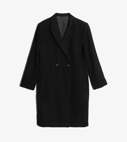 JPN -  앙고라 더블 코트  Women L / Color - Black