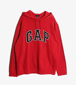 GAP - 갭 코튼 후드  Man XL / Color - Red