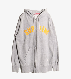 SUPREME - 슈프림 코튼 후드 집업  Made In Canada  Man XL / Color - Gray