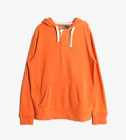 POLO BY RALPH LAUREN - 폴로 랄프로렌 코튼 후드  Man M / Color - Orange