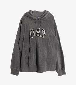 GAP - 갭 폴리 후드  Man M / Color - Gray