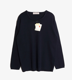 ESCADRE - 에스카드레 울 니트 (새 제품)  Made In Italy  Women L / Color - Navy