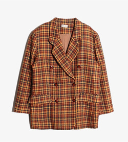 JAMODE -  울 체크 자켓  Women M / Color - Check