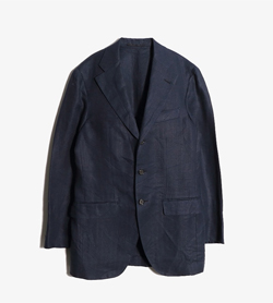 R CARUSO - 알 카루소 린넨 3버튼 자켓  Made In Italy  Man M / Color - Navy