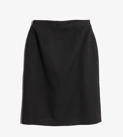JPN -  울혼방 스커트  Women M / Color - Black