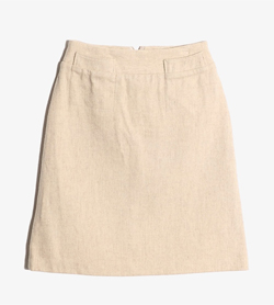 TWO C - 투씨 울 A스커트  Women XL / Color - Beige