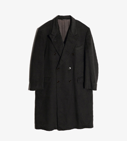 LUCIEN FONCEL -  캐시미어100% 더블 코트  Made In Italy  Man L / Color - Charcoal