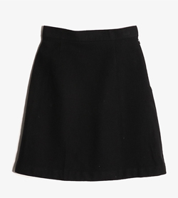 COURREGES - 쿠레쥬 울 A스커트  Women 24 / Color - Black