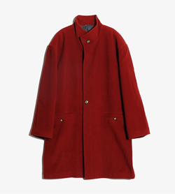 MOVECENTO -  울 집업 코트  Made In Italy  Man L / Color - Red