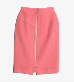 COURREGES - 쿠레쥬 울 스커트  Women 26 / Color - Pink