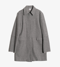 MAX&CO - 막스앤코 라나 폴리 집업 코트  Made In Italy  Women L / Color - Gray