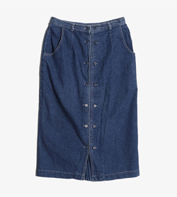 JPN -  데님 스커트  Women 28 / Color - Denim