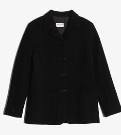 MAX&CO - 막스앤코 라나울 4버튼 자켓  Made In Italy  Women M / Color - Black