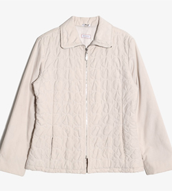 MAX&CO - 막스앤코 폴리 집업 자켓  Made In Italy  Women M / Color - Beige