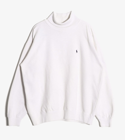 POLO BY RALPH LAUREN - 폴로 랄프로렌 코튼 터틀넥  Man L / Color - White