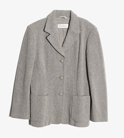 MAXMARA - 막스마라 버진울 자켓  Made In Italy  Women L / Color - Gray