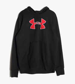 UNDER ARMOUR - 언더아머 코튼 후드  Man XL / Color - Black