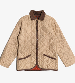 LAVENHAM - 라벤헴 폴리 퀼팅 점퍼  Made In England  Man L / Color - Brown