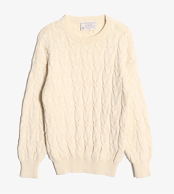 DRIZA BONE -  울 오스트레일리안 스웨터  Made In Australia  Unisex S / Color - Ivory